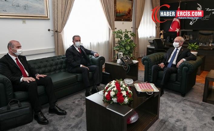 Akar ve Soylu'dan, Kılıçdaroğlu ve Akşener'e 'Gare' ziyareti