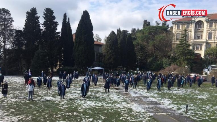Boğaziçi Üniversitesi akademisyenlerinin eylemi 47'nci gününde