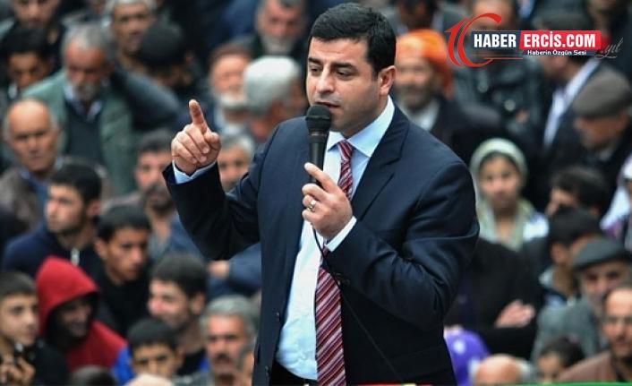 Demirtaş'tan Garê açıklaması: Sorumluluğu HDP'ye yüklemek aymazlıktır