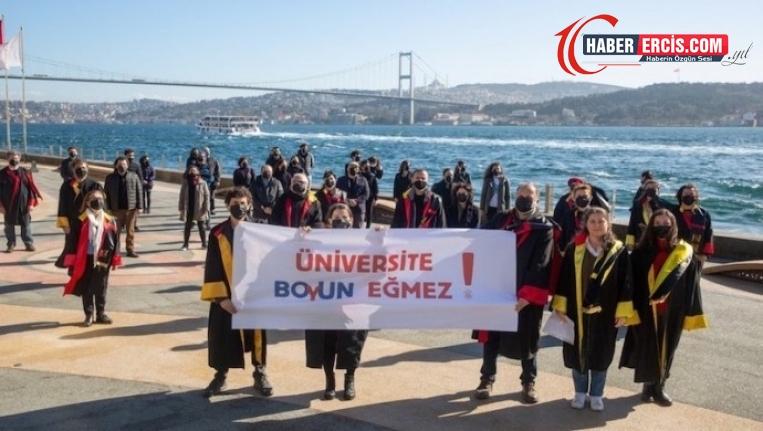 Galatasaray Üniversitesi'nden Boğaziçi'ne destek