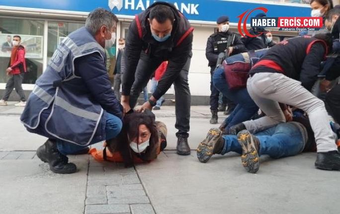 İzmir'de Boğaziçi eylemine polis müdahalesi: 32 gözaltı