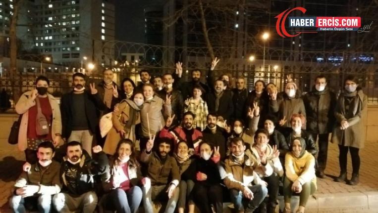 Kadıköy'de gözaltına alınan 61 kişi serbest bırakıldı
