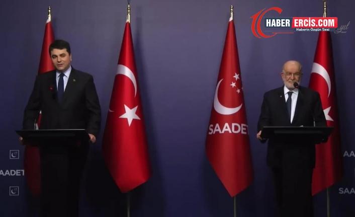 Karamollaoğlu, Demokrat Parti Genel Başkanı Gültekin Uysal ile görüştü