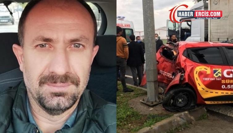 Kazada ağır yaralanan Vanlı yurttaş hayatını kaybetti