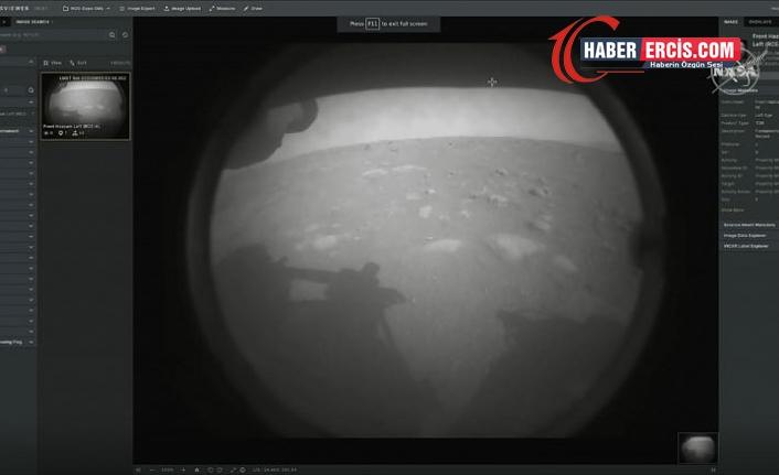 NASA'nın keşif aracı Perseverance 7 ay süren yolculuğun ardından Mars'a başarıyla indi