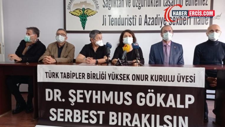 TTB ve Diyarbakır Tabip Odası: Dr. Gökalp serbest bırakılsın