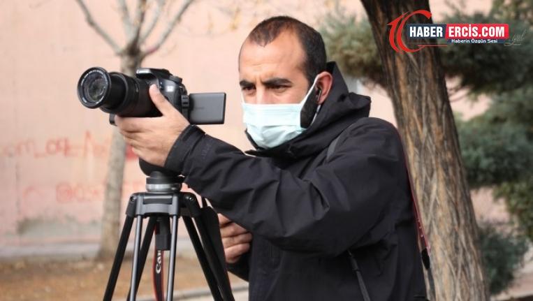 Van'da gözaltına alınıp tutuklanan gazeteci Karataş hakim karşısına çıkıyor