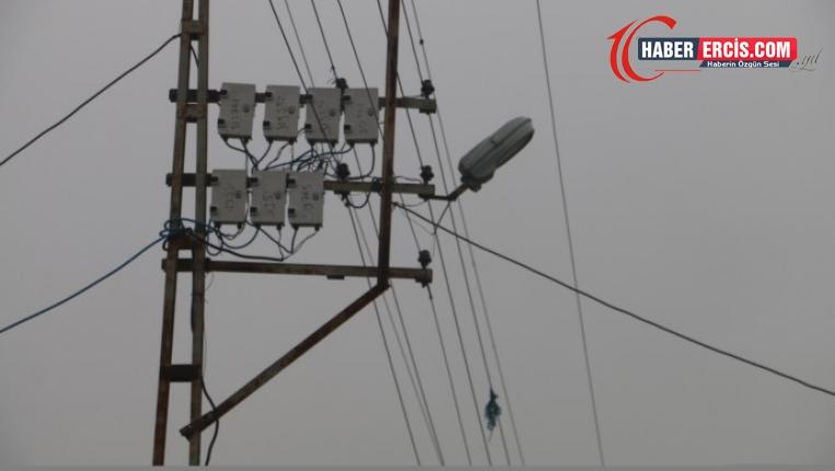 VEDAŞ bir köyü elektriksiz bıraktı