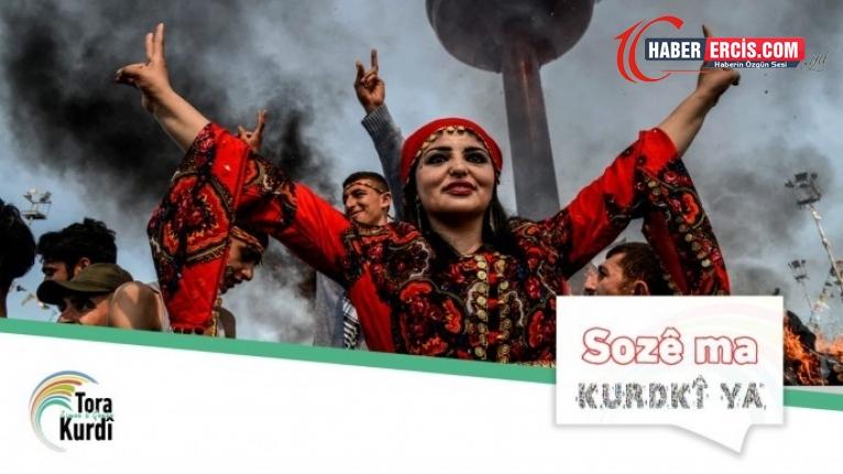 """'#ZimanêKurdî"""" Twitter'de üst sıralara yükseldi"""