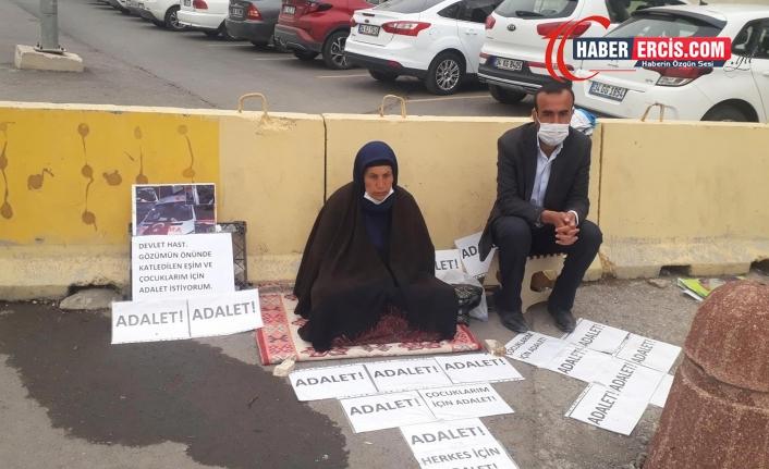 Adalet Nöbeti'ndeki Şenyaşar: Bizi buraya yönlendiren 'adaletsizlik'