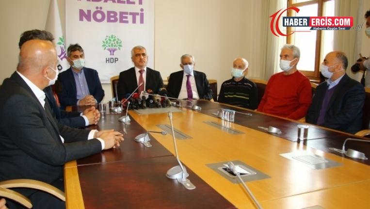 Adalet Nöbeti'nde konuşan Ahmet Türk: Güçlenerek çıkacağız