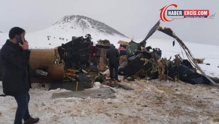 Bitlis'te helikopter düştü: 11 asker yaşamını yitirdi
