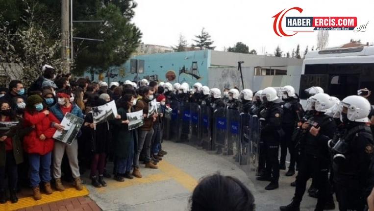Boğaziçi öğrencilerine polis müdahalesi: 12 gözaltı