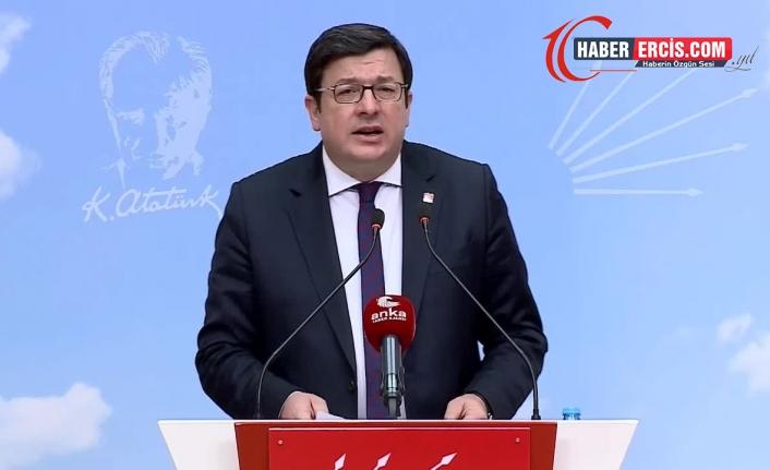 CHP'li Erkek: Saray iktidarı, lebalep hukuksuzluk içinde