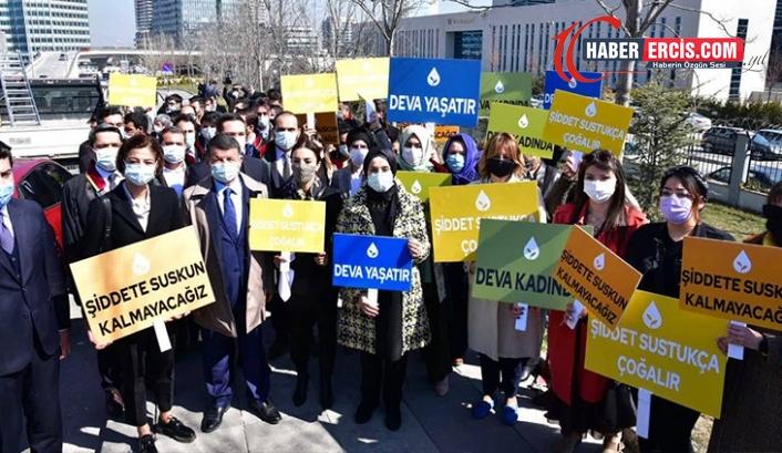 DEVA Partili kadınlar: İstanbul Sözleşmesi'nden çekilme kararı yok hükmündedir