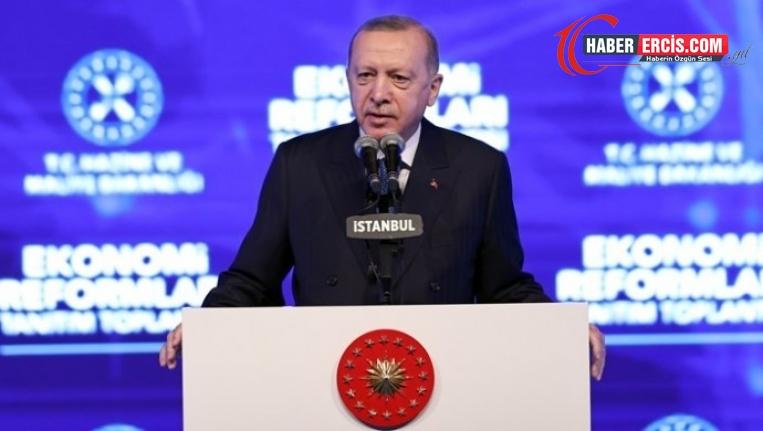 Ekonomi paketi açıklayan Erdoğan'dan borçlanma vaadi