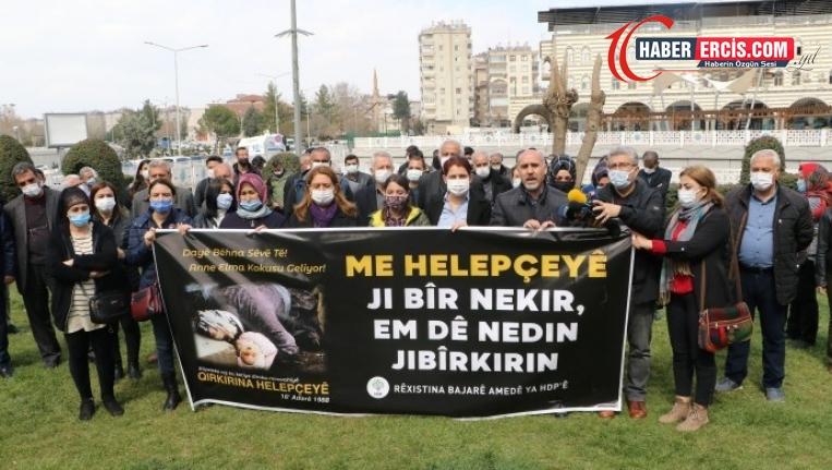 'Halepçe Kürtler için birlik olmanın gerekçesidir'