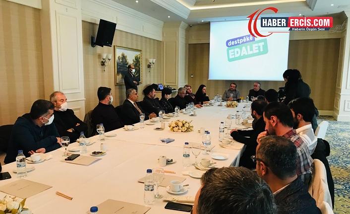 Van'da HDP, Kürtçe çalışma yürüten yazarlarla bir araya geldi