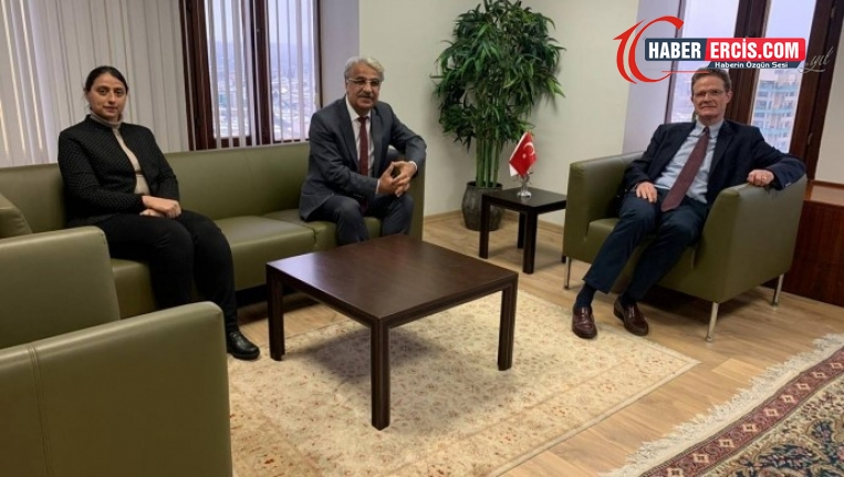 HDP'den AB Türkiye Delegasyonu Başkanına ziyaret