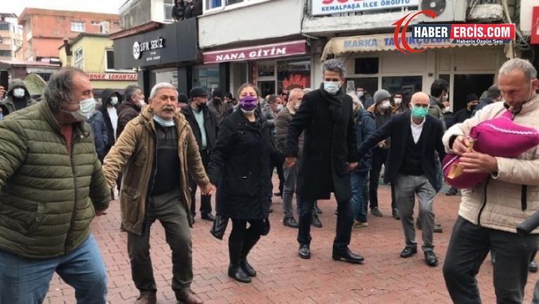 HDP Karadeniz'den horonlarla uğurlandı