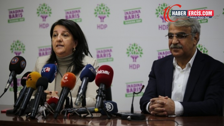 Buldan: Parti kapatma tecridin sonucudur, Sancar: HDP halkına güvenerek yoluna devam edecek güçtedir