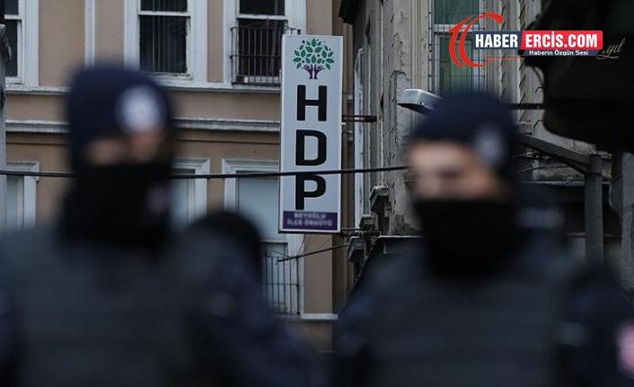 HDP'ye operasyon: Çok sayıda gözaltı