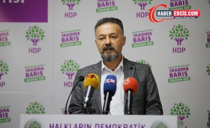 HDP'den iddianame açıklaması ve Bahçeli'ye tepki: Suç işliyor