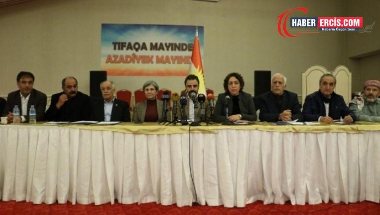 Kürdistani İttifak Çalışması'ndan 'ortak komisyon' kararı