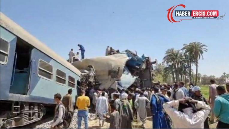 Mısır'da tren kazası: En az 32 ölü, 66 yaralı