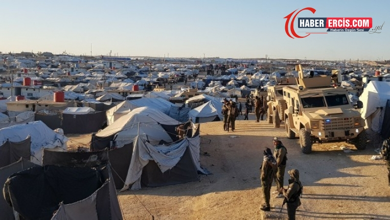QSD, IŞİD'lilerin kaldığı kampa operasyon düzenledi