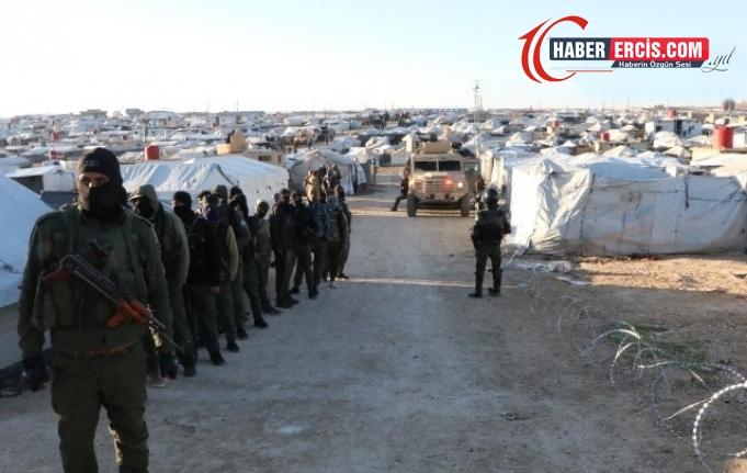 QSD'nin Hol Kampı operasyonunda 53 DAİŞ'li yakalandı