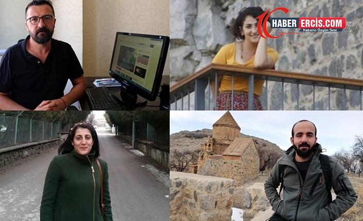 Van'da Gazetecilerin avukatları: Suç yok, gazetecilik yargılanıyor