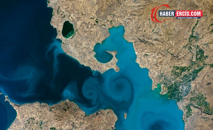 Van Gölü, NASA'nın 20 yılın en iyileri listesinde