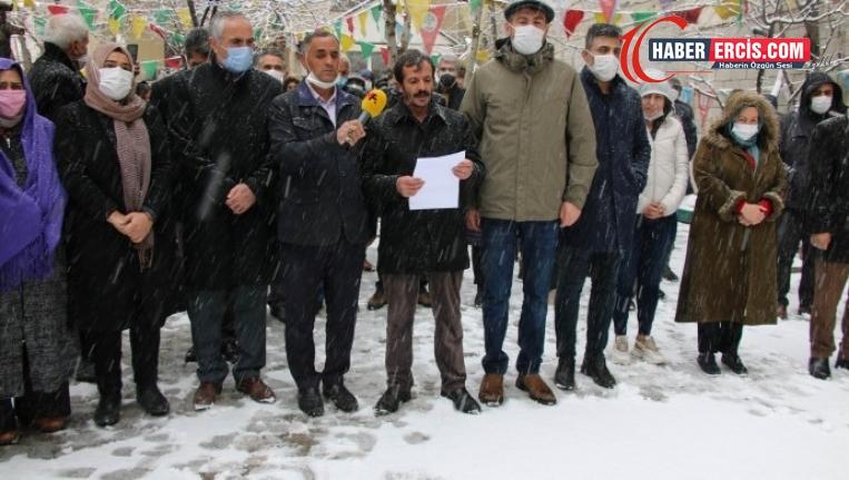 Van'da 'Mart ayı katliamları' kınandı