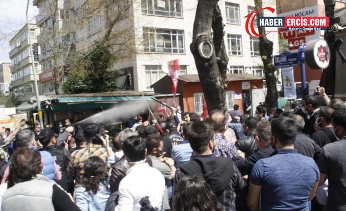 Ankara'da 1 Mayıs kutlamasına gazlı müdahale