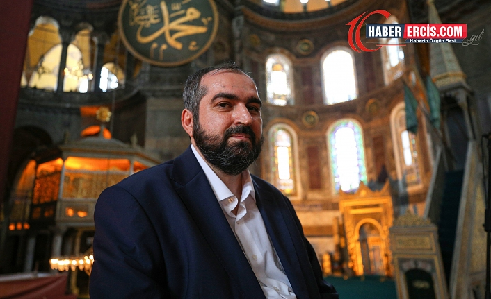 Ayasofya'ya atanan imam görevden affını istedi!