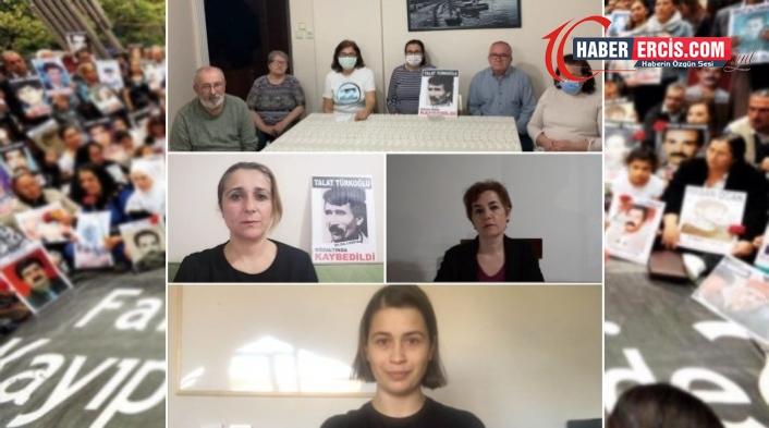 Cumartesi Anneleri gözaltında kaybedilen Talat Türkoğlu'nun akıbetini sordu