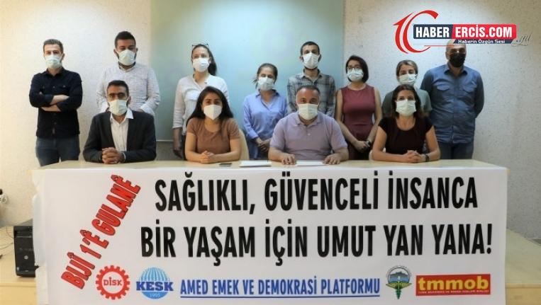 Diyarbakır 1 Mayıs'ı Dağkapı Meydanı'nda kutlanacak