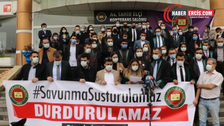Diyarbakır Barosu: 2020'de 69 üyemize 79 soruşturma ve dava açıldı