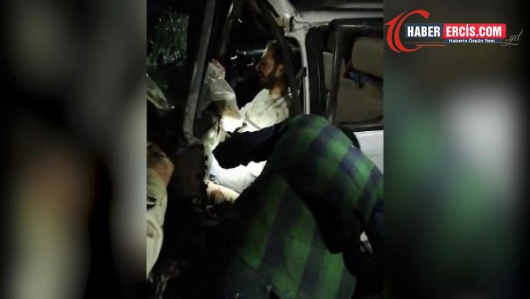 Diyarbakır'da kaza: 1 ölü, 4 ağır yaralı