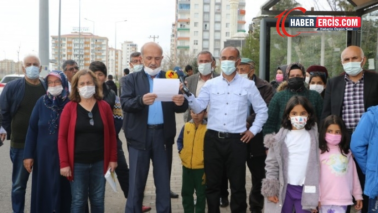 Diyarbakır'da kayyımın ring sistemine tepki