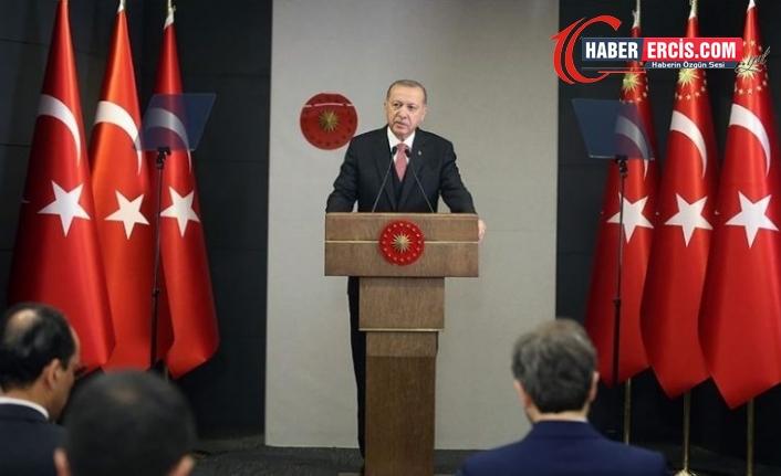 Erdoğan'dan emekli amirallerin bildirisine ilişkin açıklama