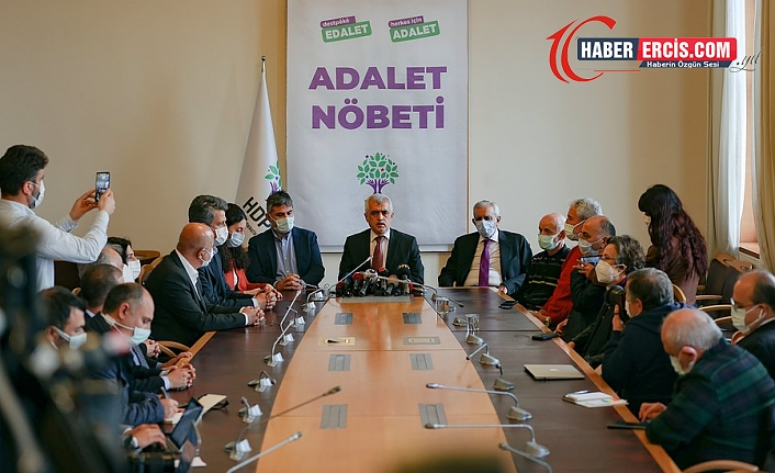 Gergerlioğlu'na 'adalet nöbeti' iddianamesi