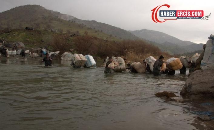 İran muhafızları 5 kolberi yaraladı, 30 kolberden haber alınamıyor