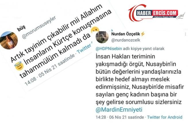 Kürtçe karşıtı ırkçı twite AKP'li başkandan destek geldi
