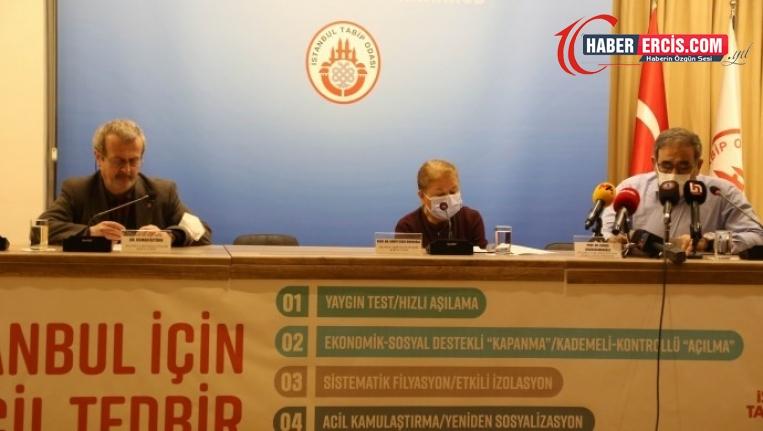 İstanbul Tabip Odası'ndan salgın için 5 acil önlem talebi