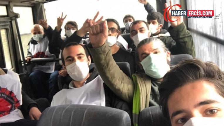 Migros depo işçileri yine gözaltına alındı