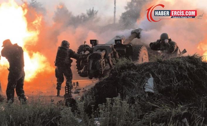 Rus askerleri poligonlarda