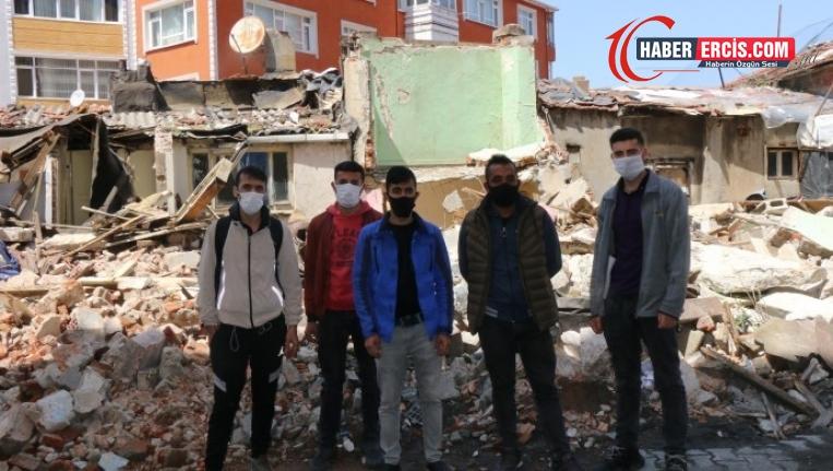 Sokakta bırakılan işçilere HDP sahip çıktı