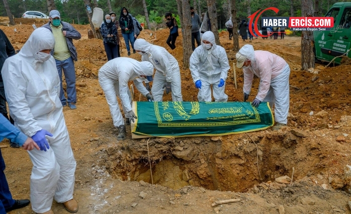 Türkiye'de Koronavirüsten 353 kişi daha hayatını kaybetti